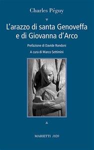 Copertina di 'L'arazzo di santa Genoveffa e di Giovanna D'Arco'