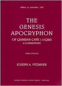 Copertina di 'The genesis apocryphon of Qumran Cave I (1Q20). A commentary'