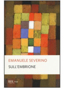 Copertina di 'Sull'embrione'