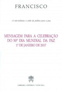 Copertina di 'Mensagem para a celebração do 50º Dia mundial da paz'