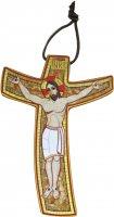 Croce della Misericordia di Padre Rupnik - 15,3 x 22 cm