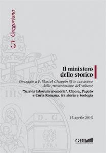 Copertina di 'Ministero dello storico . (Il)'