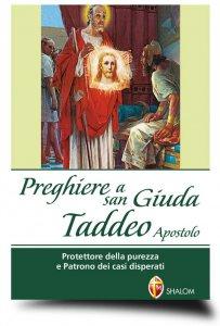 Copertina di 'Preghiere a san Giuda Taddeo Apostolo'