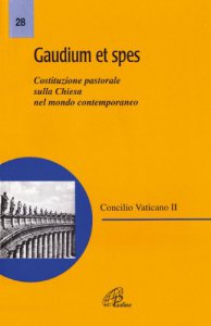 Copertina di 'Gaudium et spes. Costituzione pastorale del Concilio Vaticano II sulla Chiesa nel mondo contemporaneo'