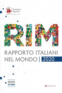 Copertina di 'RIM. RAPPORTO ITALIANI NEL MONDO 2020'