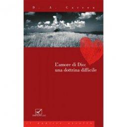 Copertina di 'L'amore di Dio: una dottrina difficile'