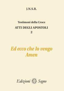 Copertina di 'Atti degli apostoli 2'