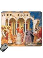 "Mousepad ""Gesù scaccia i mercanti dal tempio"" - Giotto"