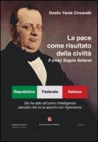 La pace come risultato della civiltà. Il (mio) sogno italiano - Ciccarelli Yards Onello