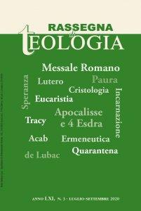 Copertina di 'Rassegna di Teologia n. 3/2020'