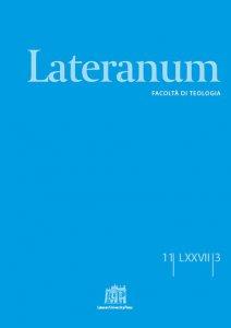 Copertina di 'Lateranum n. 3/2011'