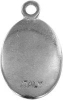 Immagine di 'Medaglia Fatima in metallo nichelato e resina - 2,5 cm'