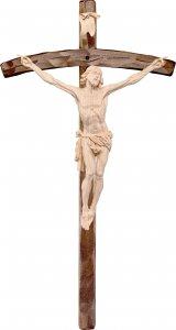 Copertina di 'Crocifisso Cristo della Passione con croce - Demetz - Deur - Statua in legno dipinta a mano. Altezza pari a 11 cm.'