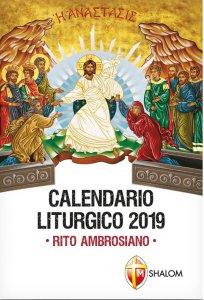 Copertina di 'Calendario Liturgico 2019. Rito ambrosiano'