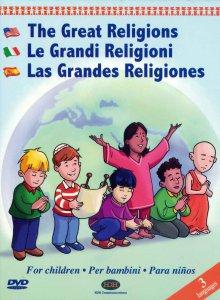 Copertina di 'Grandi religioni per bambini'
