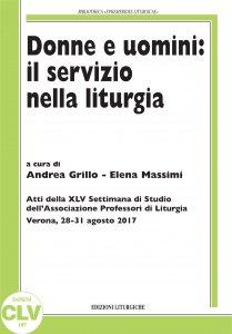 Copertina di 'Donne e uomini: il servizio nella liturgia'