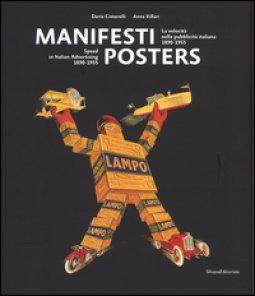 Copertina di 'Manifesti. La velocità nella pubblicità italiana (1890-1955)-Posters. Speed in italian advertising (1890-1955). Ediz. bilingue'