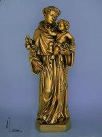 """Statua in fibra di vetro """"Sant'Antonio di Padova""""- altezza 60 cm"""