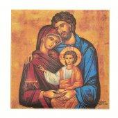 """Piastrellina magnetica """"Sacra Famiglia"""" - dimensioni 4,5x4,5 cm"""