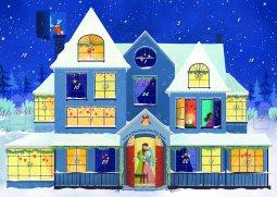 Copertina di 'Aspettando il Natale. Calendario dell'Avvento 2020'