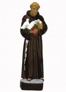 Copertina di 'Statua da esterno di San Francesco d'Assisi in materiale infrangibile, dipinta a mano, da 60 cm'