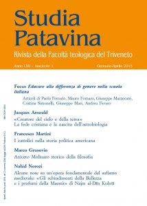 Copertina di 'Studia Patavina 2015/1'