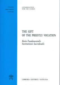 Copertina di 'The gift of the priestly vocation'