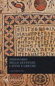 Copertina di 'Dizionario delle sentenze latine e greche'