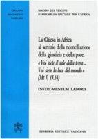 La chiesa in Africa al servizio della riconciliazione e della pace