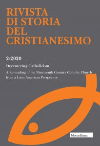 Copertina di 'RSCR. 2/2020: Decentering Catholicism. A Re-reading of the Nineteenth Century Catholic Church from a Latin American Perspective'