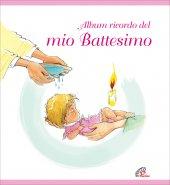 Album ricordo del mio battesimo - Rosa