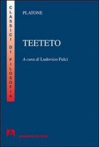 Copertina di 'Teeteto'