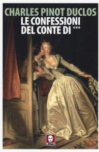 Copertina di 'Le confessioni del conte di ***'