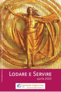 Copertina di 'Lodare e servire. Aprile 2020'