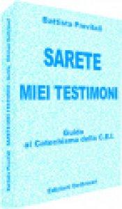 Copertina di 'Sarete miei testimoni'