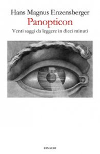 Copertina di 'Panopticon. Venti saggi da leggere in dieci minuti'
