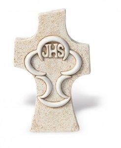 Copertina di 'Croce comunione da appoggio effetto pietra'