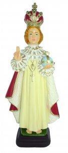 Copertina di 'Statua da esterno di Gesù Bambino di Praga in materiale infrangibile, dipinta a mano, da circa 30 cm'