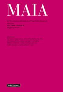 Copertina di 'Maia. 2/2015: Rivista quadrimestrale di letterature classiche'