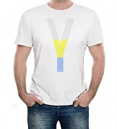 T-shirt Yeshua policroma con scritte - Taglia M - UOMO