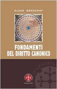 Copertina di 'Fondamenti del diritto canonico'