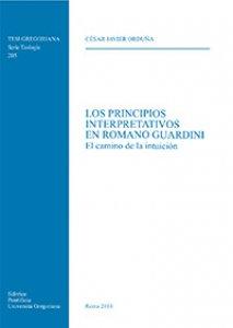 Copertina di 'Los principios interpretativos en Romano Guardini. . El camino de la intuición'