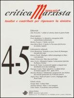 Critica marxista (2016). Vol. 4-5