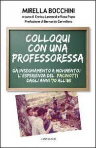 Copertina di 'Colloqui con una professoressa'